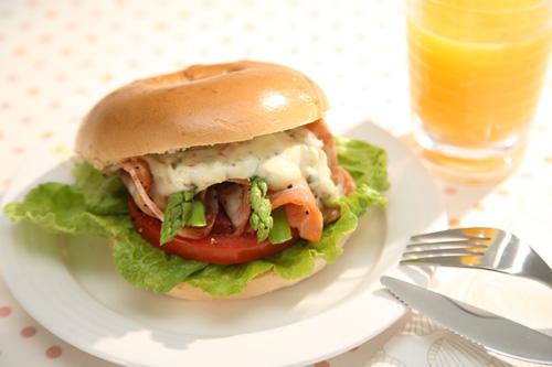 【調理方式】  [愛家烘焙]  貝果麵包  原味貝果 480g